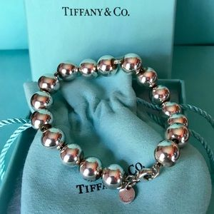 Tiffany & Co. Jewelry - Tiffany & Co. Sterling Silver 10mm Ball Bracelet